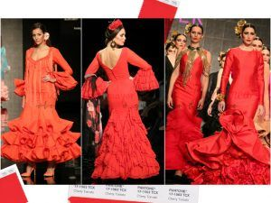 Tendencias en moda flamenca para 2018: Colores