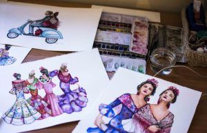 Pinceladas flamencas