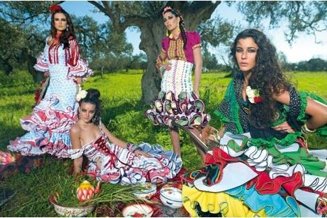 Moda flamenca – Surrealista