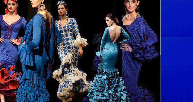Trajes de flamenca – Colores
