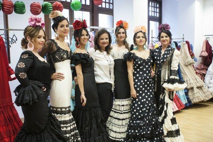 Los trajes de flamenca de Pilar Vera en Córdoba