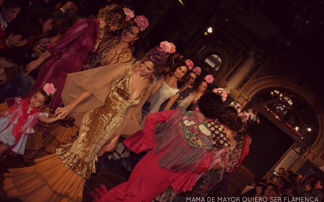 Moda flamenca 2014 – Ángeles Verano