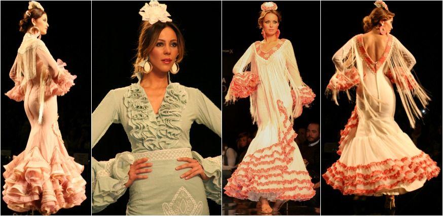 Moda flamenca 2014 – Faly de la feria al Rocío