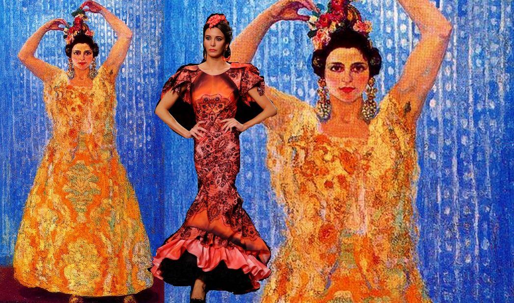 Flores para flamenca