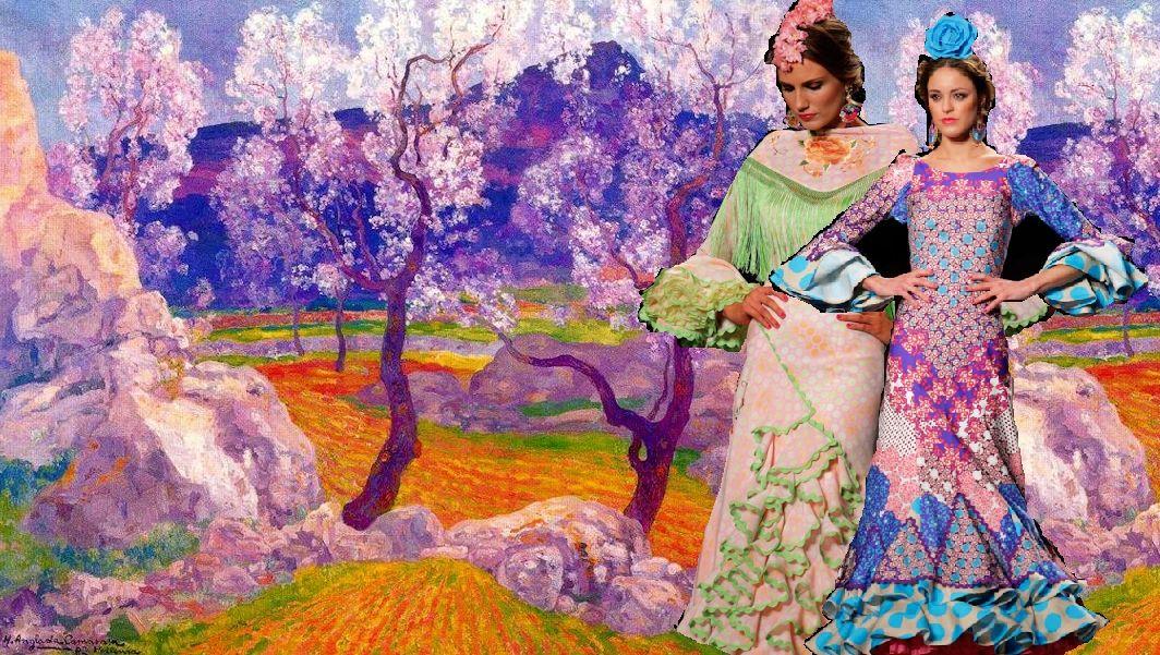 Moda flamenca y arte