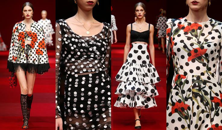 dolce-and-gabbana-spring-summer-2015-women-fashion-show-review-and-inspiration-polka-dots