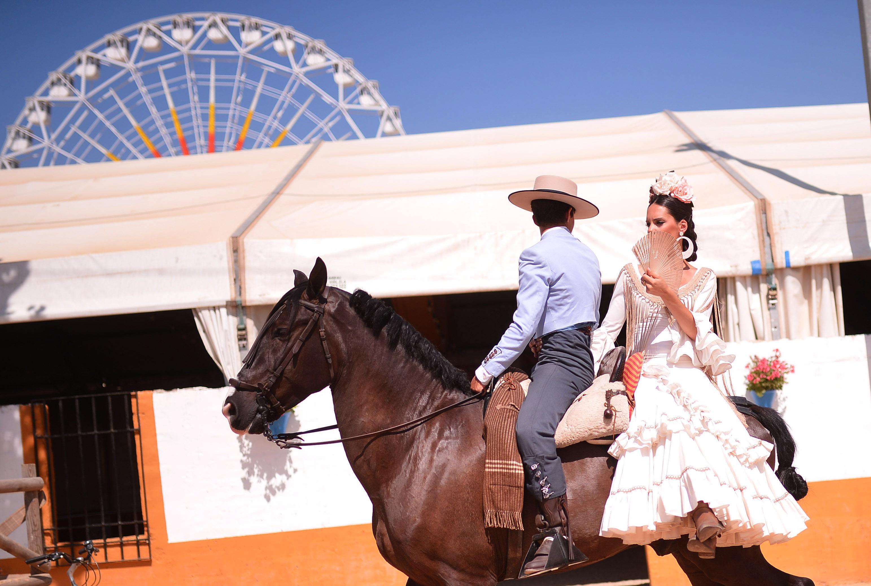 CÓRDOBA/ ANDALUCÍA. 30/05/2015.  Sábado de Feria, último día de largo en Real de Nuestra Señora de la Salud de Córdoba.EFE/Rafa Alcaide