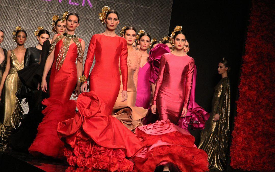 Moda Flamenca 2015 – Vicky Martín Berrocal