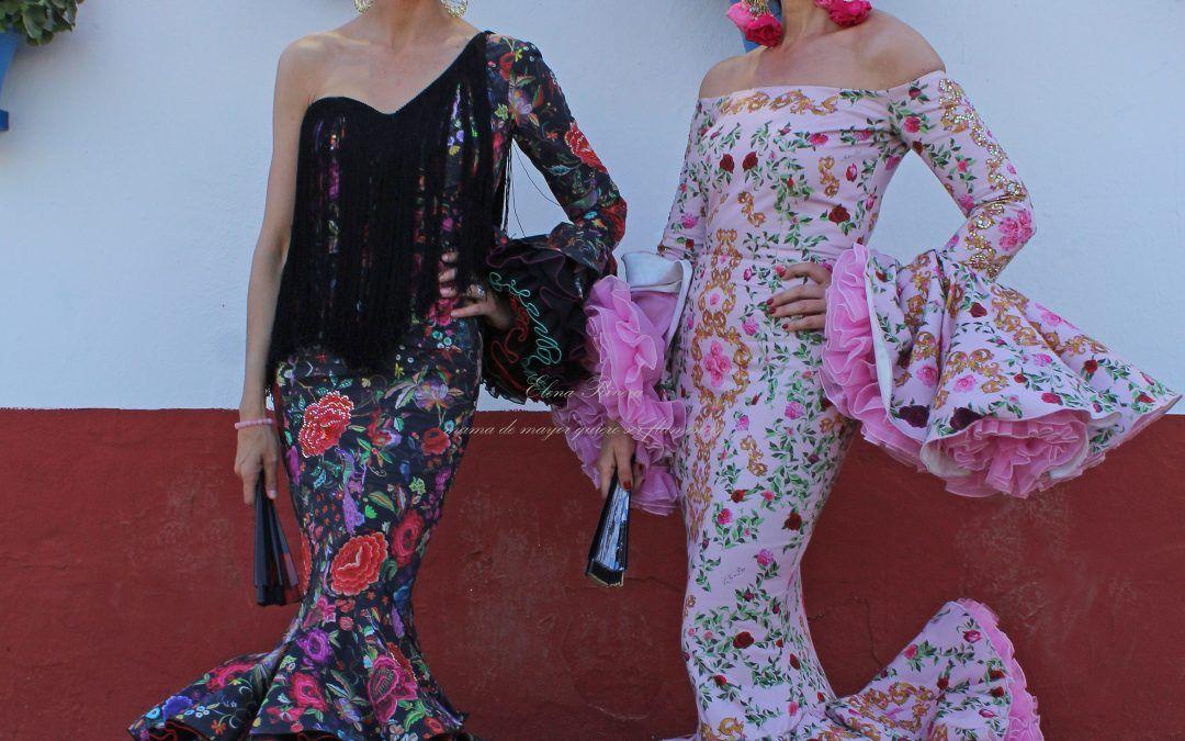 Flamencas en la feria de Córdoba