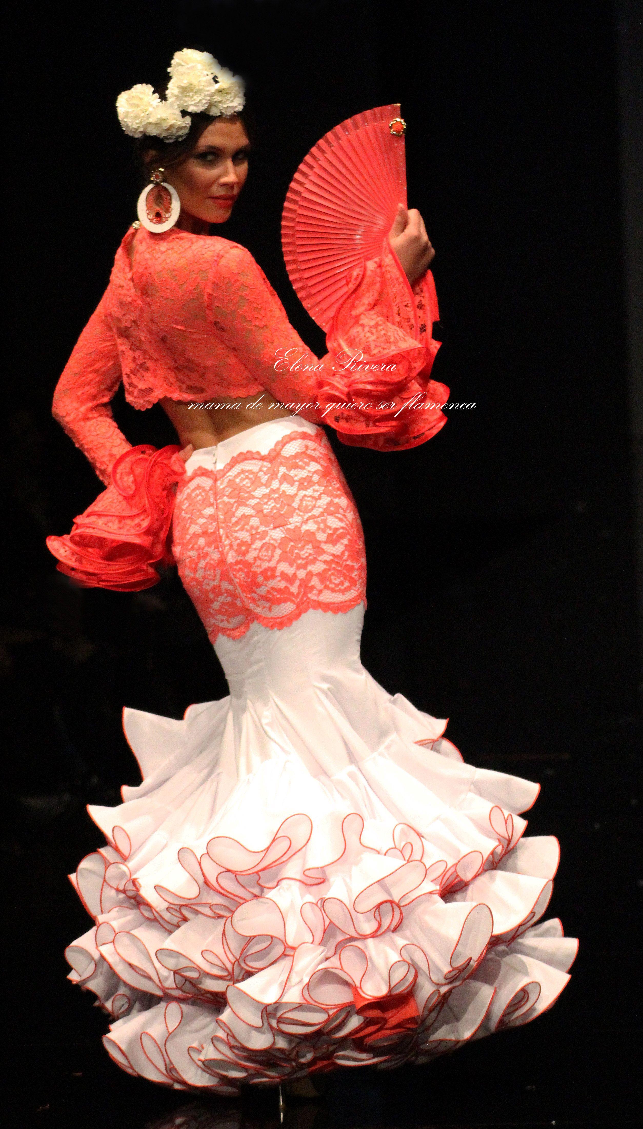 ef6aaa042 Sara de Benitez. Colección flamenca 2016 - FOTO  Elena Rivera