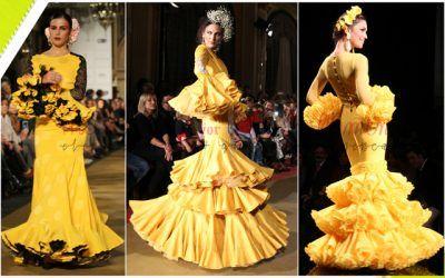 Tendencias en moda flamenca para 2018: Colores
