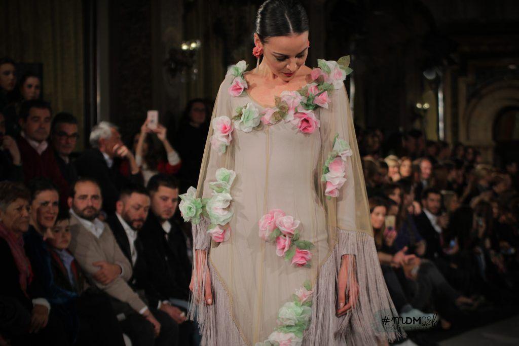cc61838d0 Colección de moda flamenca presentada en la pasarela We love flamenco 2018.  «Sevillanas». FOTOS  Elena Rivera (C)