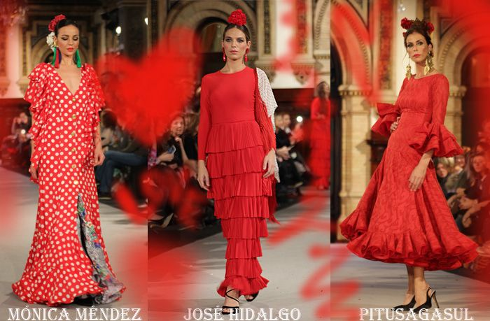 2728aabe4 Tendencias en moda flamenca para 2018 - Colores.