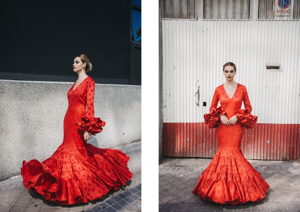 La flamenca de Johanna Calderón