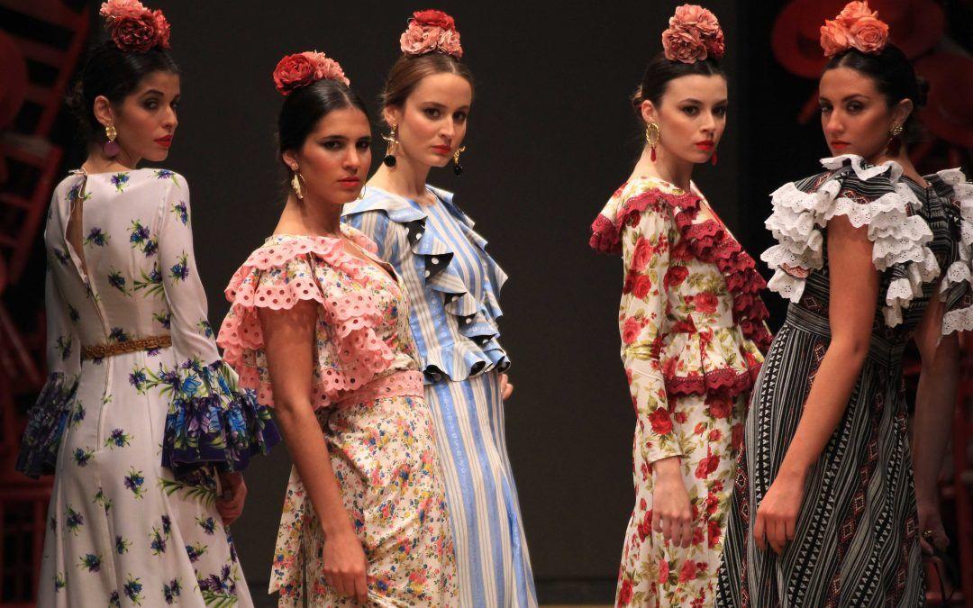 Vestir de flamenca en el camino