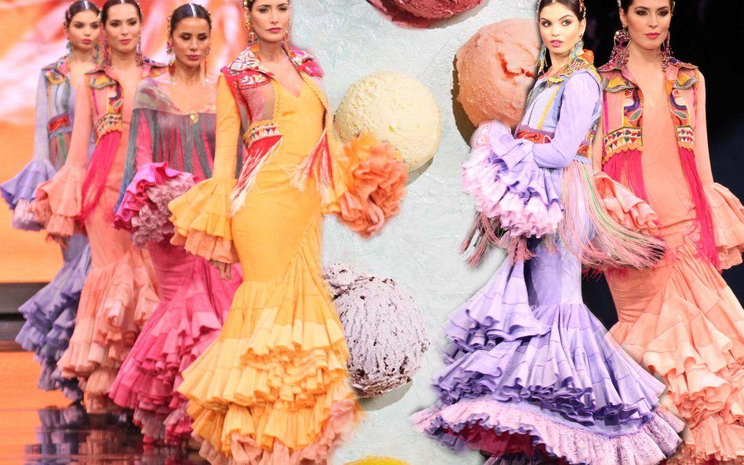 Moda flamenca 2020: Los tonos sorbete